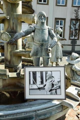 Graf Bernhard Bürgerbrunnen Standesamt Lippstadt
