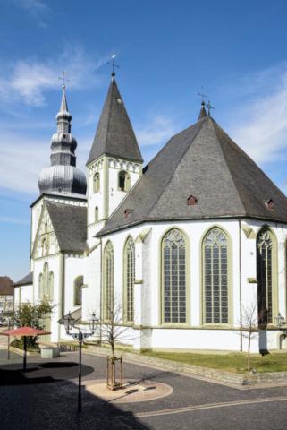 Marienkirche Lippstadt Sonnenschein