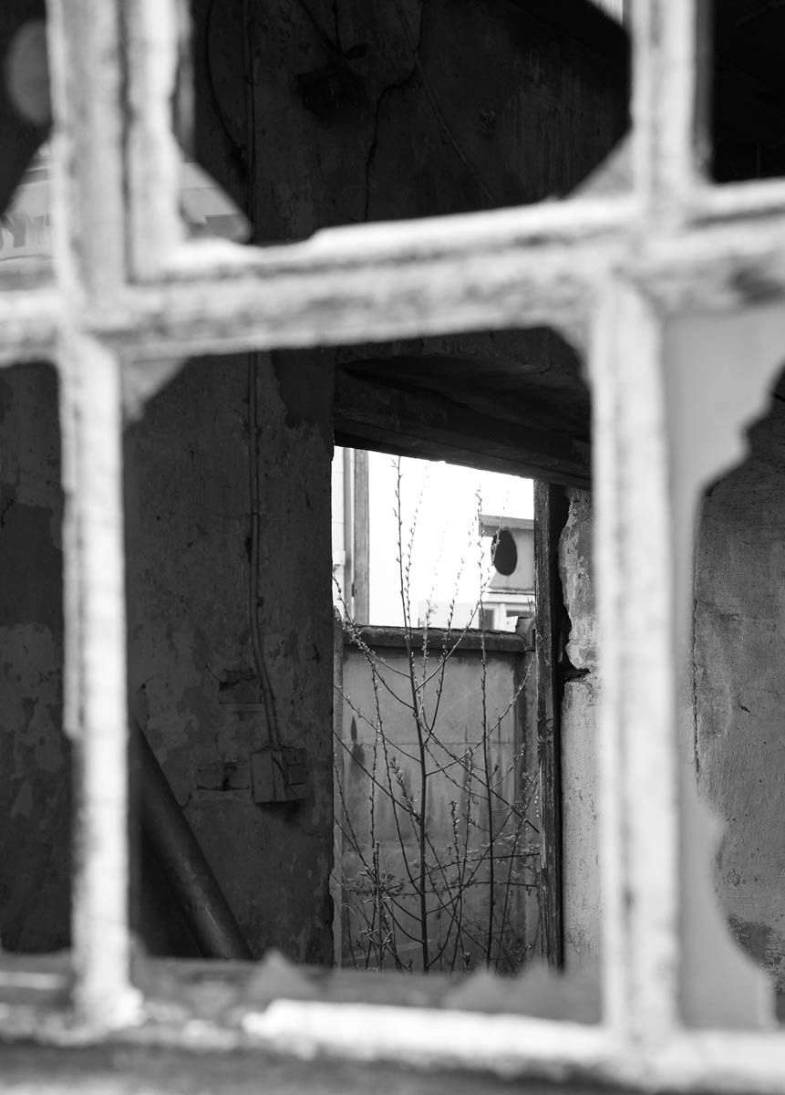 Lost Places Fenster