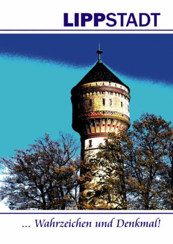 Lippstadt 2021 Postkarte Wasserturm Cdr